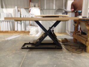 Table ciseaux