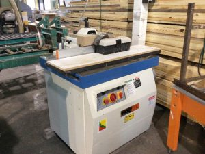 Shaper table coulissante
