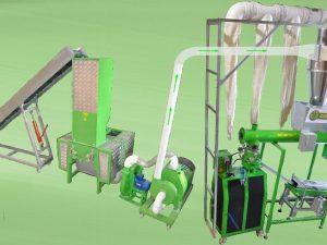 Ligne de granulation fabrication de granule