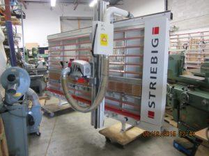 Scie a panneau verticale Holzher 1230 automatique