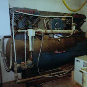 Compresseur a piston Webster 20 hp