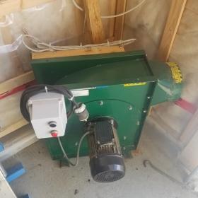 Ventilateur extracteur a copeaux Logosol 4hp