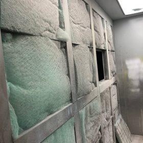 Chambre à peinture ouverte (spray boot)
