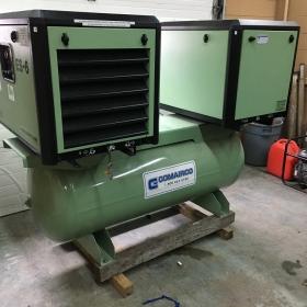 Compresseur a vis Sullair 10 + 10 hp