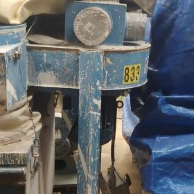 Dépoussiéreur Belfab MPC-26, 3600 cfm 705 hp 600 volts