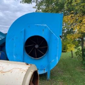 Ventilateur de dépoussiéreur 20000 a 35000 cfm RDL